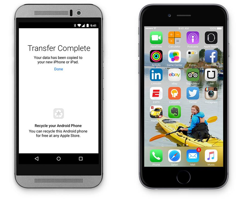 iOS Android Migration