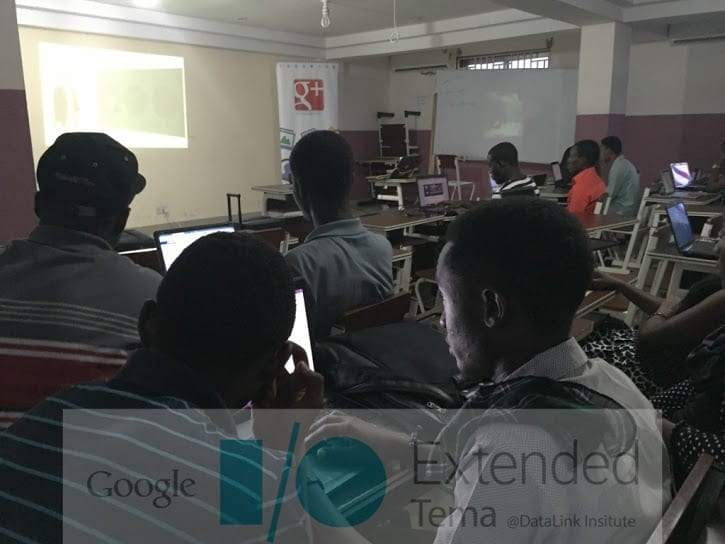 First Ever Google I/O Extended Tema  Went Successful