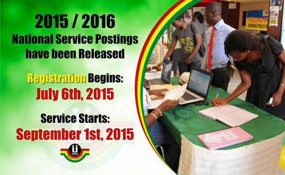 2015/2016 National Service Postings Released