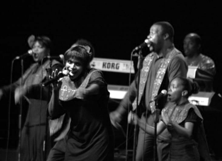 Harlem Gospel Choir - fundraising concert