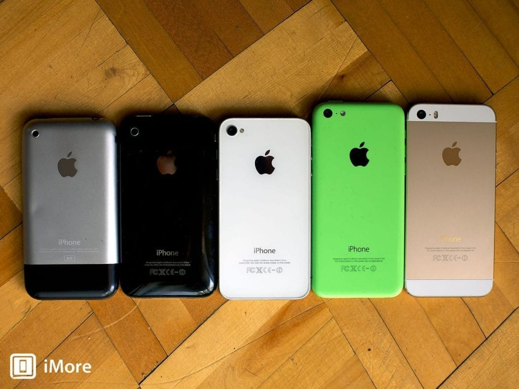 iPhone models