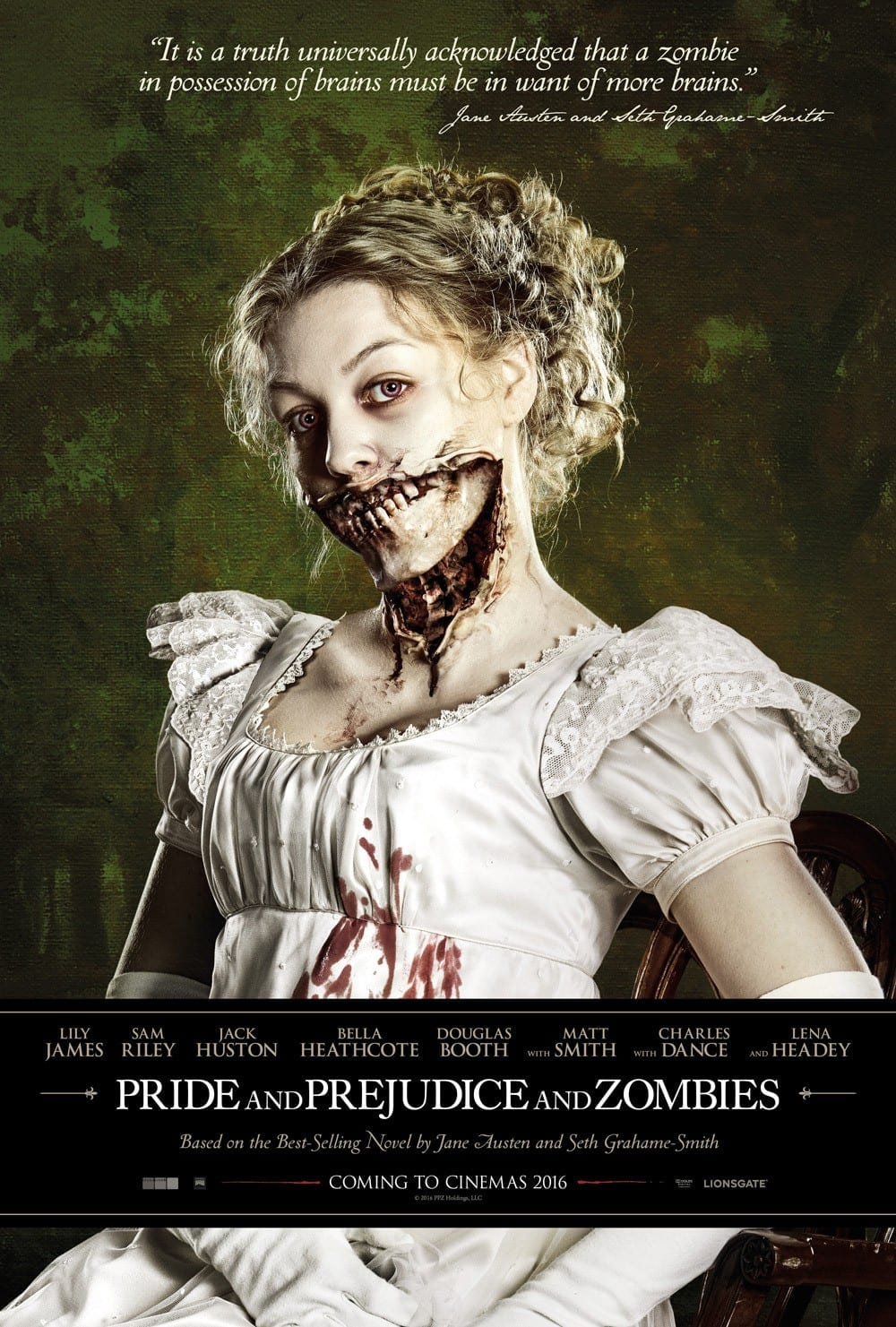 Official Trailer: Pride and prejudice and zombies