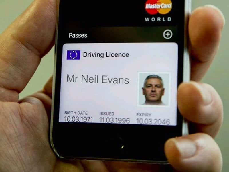 The UK is developing a digital driving licence