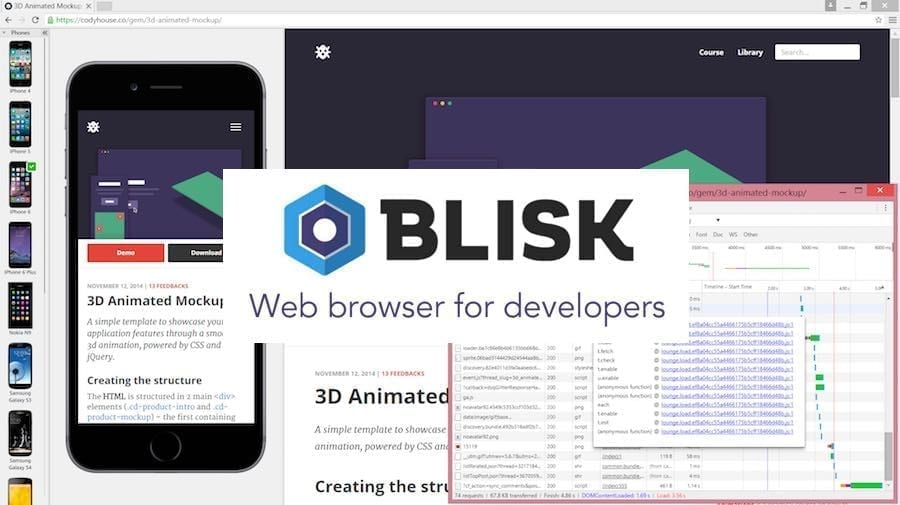Blisk: A free web browser that every programmer and developer must use