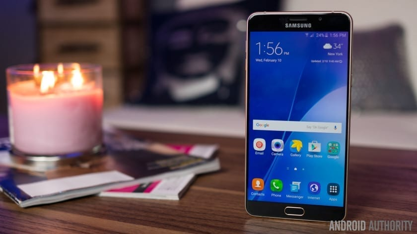 Samsung Galaxy A9 upgraded to Android 6.0.1 Marshmallow