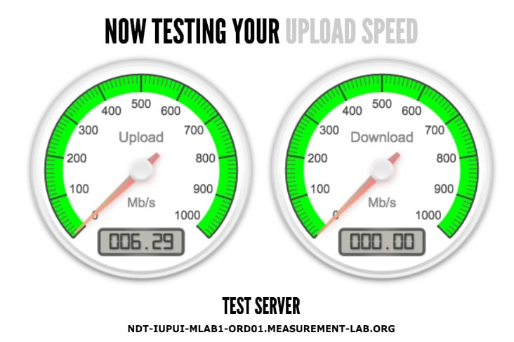 Google is building an internet speed test tool into search results