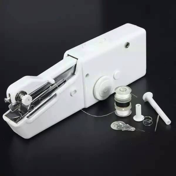 Mend Your Own Clothes With This Portable Handheld Sewing Machine