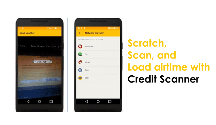 Scratch, Scan And Fancily Load Your Mobile Credit Using Airtime Loadup App