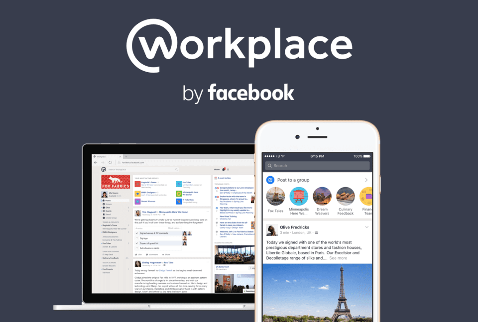 """Facebook Makes """"Workplace"""" Available To All Organizations"""