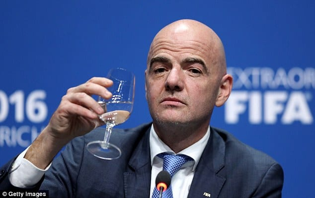FIFA approves Plan world cup 48 teams Giovanni Vincenzo FIFA Boss