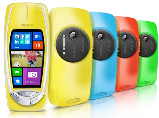 Be Excited – The New Nokia 3310 Gets A 41-Megapixel PureView Camera