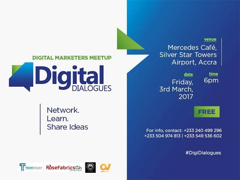 Maiden Edition of Digital Dialogues: Digital Marketers Meet Up In Accra This March