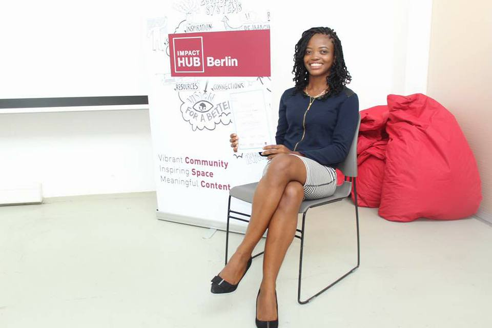Young Ghanaian, Ivy Barley Wins E-Skills for Girls Competition In Berlin, Germany