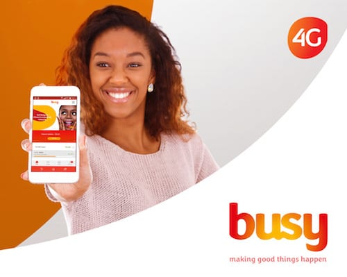 Busy 4G Data Bundles: Price, Validity Period And More