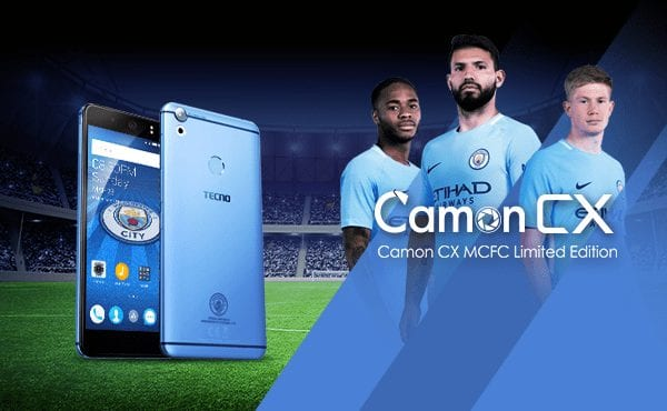 TECNO Camon CX Manchester City Limited Edition Is More Than Just The Design