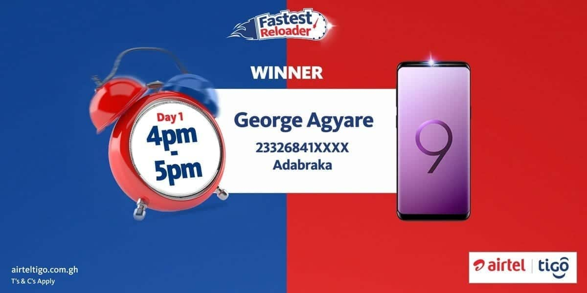 AirtelTigo Is Giving Out 18 Samsung S9 Phones To Lucky Winners