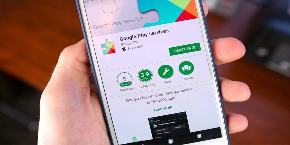 updating google play services