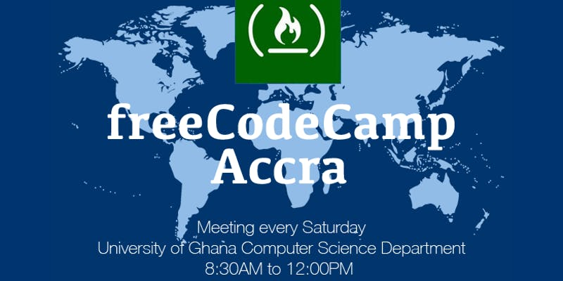 Coffee and Code: freeCodeCamp Accra gets you developing web applications