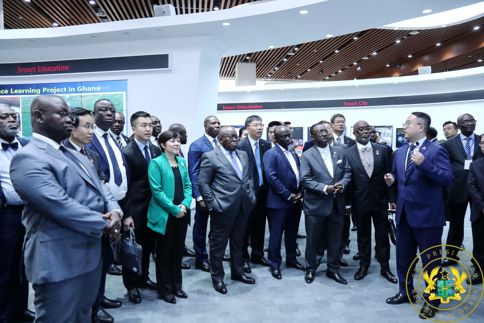 Inspur Group to establish West Africa headquarters in Ghana