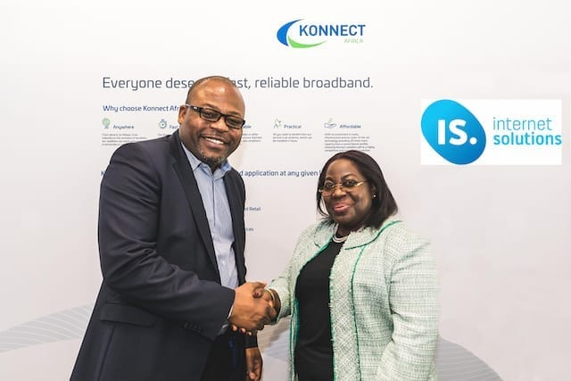 Konnect Africa, IS Internet Solutions to give Ghanaians satellite broadband services