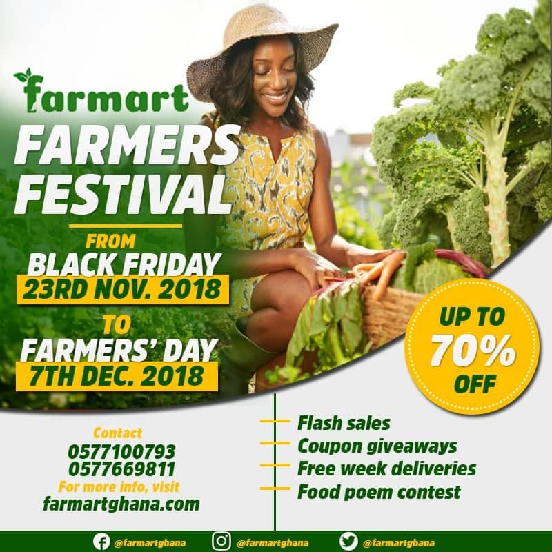 Farmart to launch farmers festival on November 23rd, 2018
