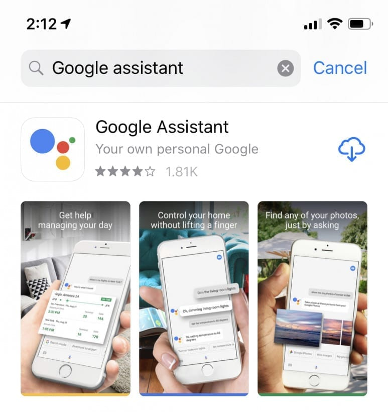you can use Google Assistant on iPhone and iPad instead of Siri