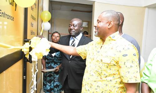 MTN Ghana Foundation built an e-Library for the Takoradi Technical University as part of their 11th anniversary celebrations...