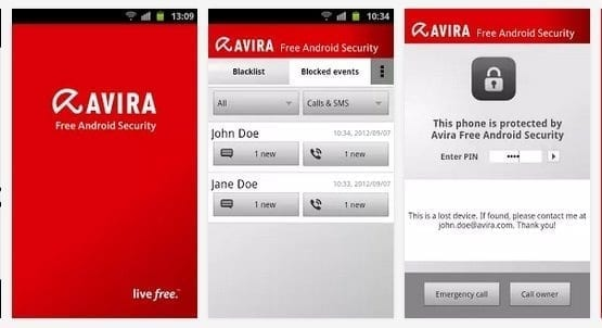 avira free android security - 10 best free Android antivirus apps to keep your Android device safe in 2019