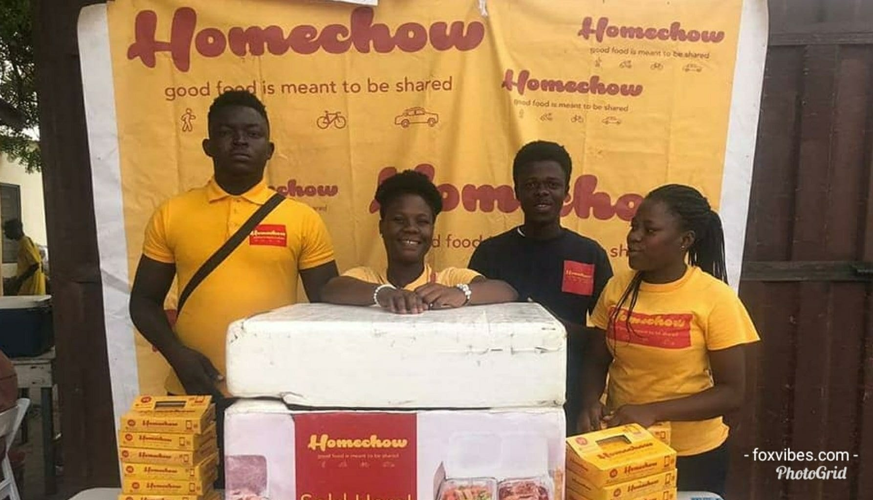 """""""Homechow"""" the must have Ghanaian food app"""