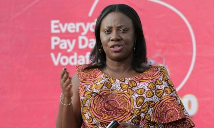 Patricia Obo-Nai, the first Ghanaian to be appointed CEO of Vodafone Ghana