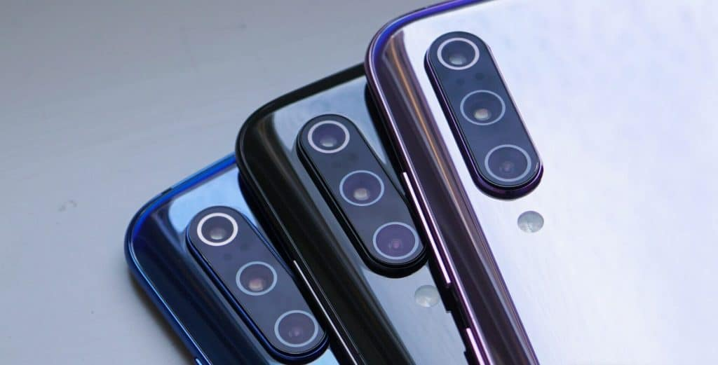 Xiaomi Mi 9 three-triple camera system