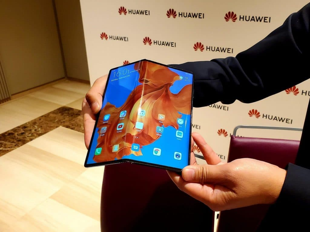 Huawei's Mate X foldable phone is a rival to Samsung's Galaxy Fold — it's thinner and 5G