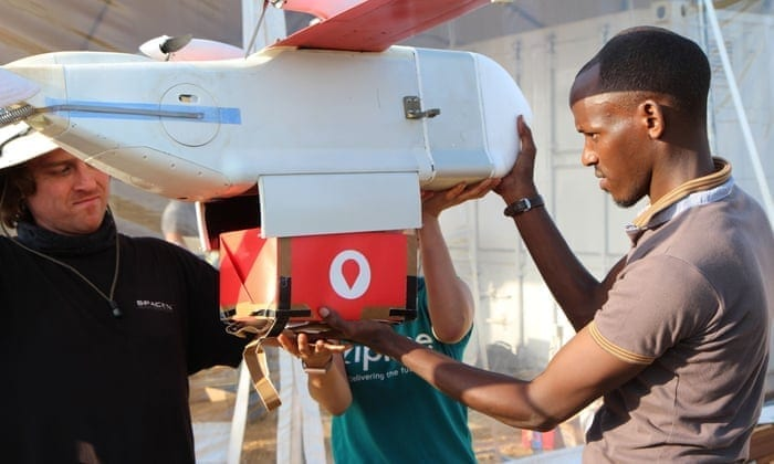 Zipline has started the medical drone delivery service in the first distribution centre in Omenako, in the Eastern Region