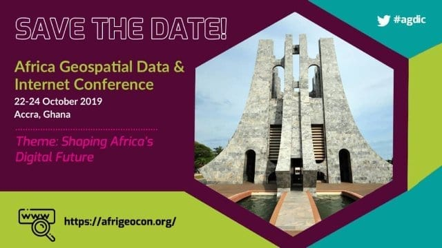 2019 African Geospatial Data & Internet conference