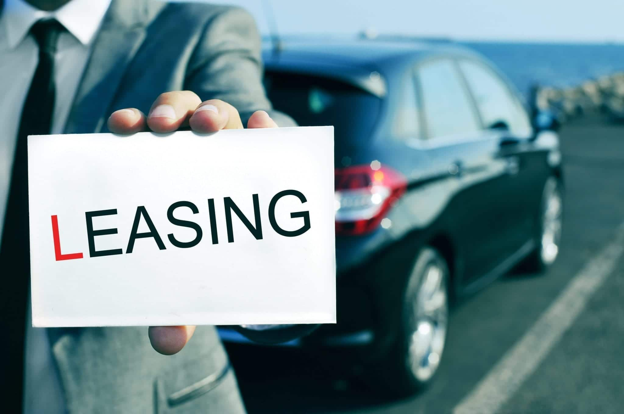 What fees come with leasing a car?