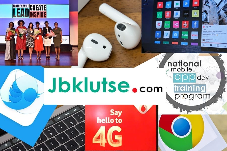 major tech headlines on JBKlutse.com this week - April 13, 2019