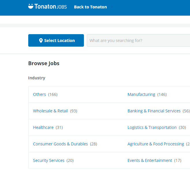 Tonaton, introduces Tonaton Jobs platform for job seekers