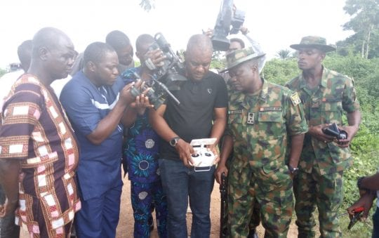 Nigerian army deploys drones to fight kidnapping in Ondo, Ekiti states