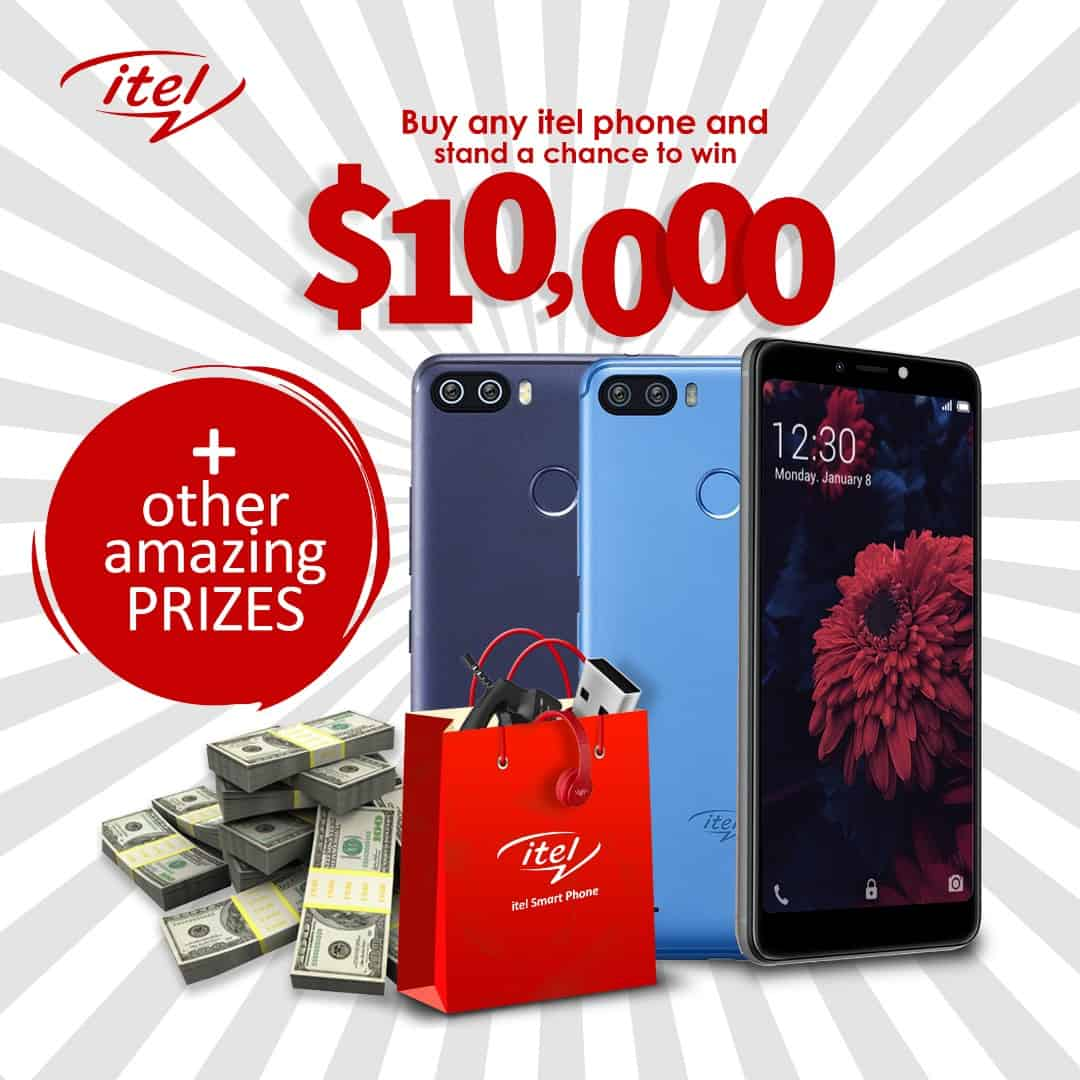 itel Mobile launches $10000 promotion