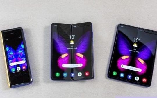 Samsung's foldable Galaxy Fold smartphone ready for release in September