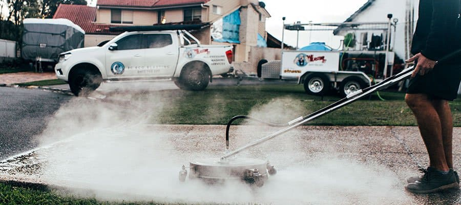 JC Eco Blasting Pressure Cleaning