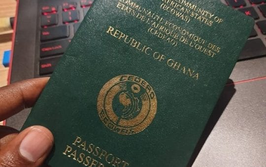 Ghana passport fees to be increased from February 2020