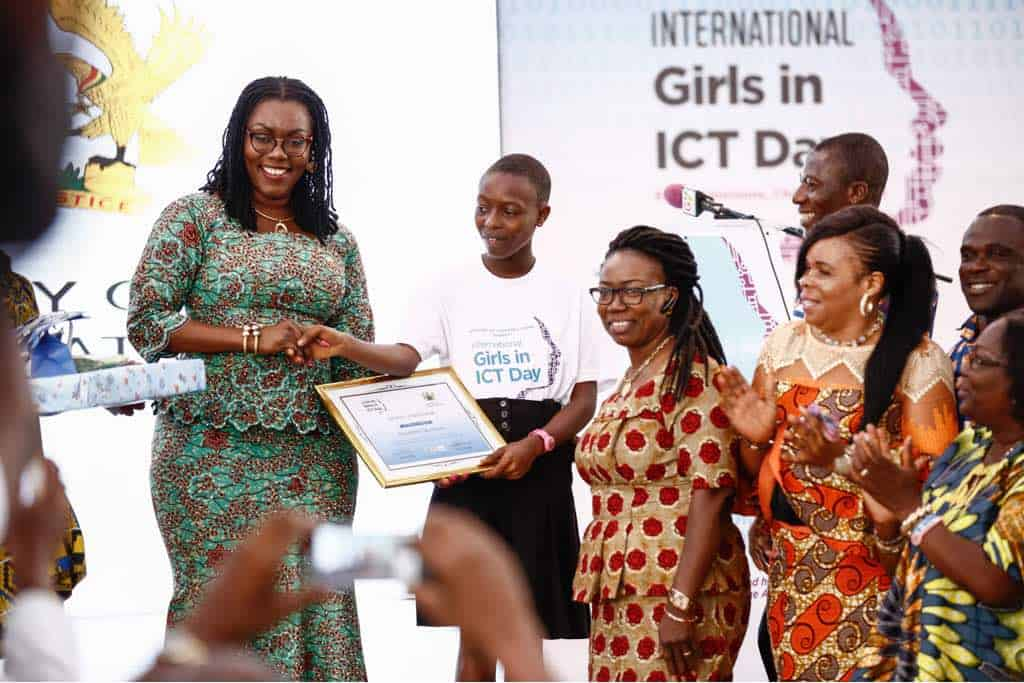 ursula owusu-ekuful girls-in-ict mentorship week