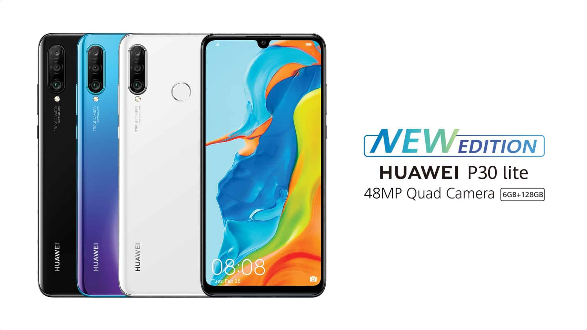 HUAWEI P30 lite 48MP edition's features