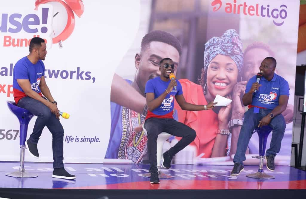 AirtelTigo unveils 'Fuse Bundle Song' composed by Afrobeat Superstar Fuse ODG