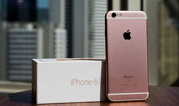 iPhone 6S discontinued