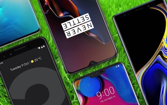 These are the smartphones getting the Android 10 update