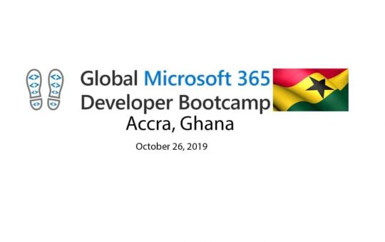 Microsoft 365 Developer Bootcamp to take place on October 26