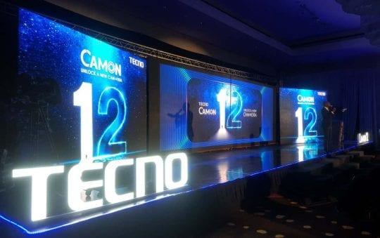 TECNO Camon 12 Air, Camon 12 and Camon 12 Pro launched in Ghana; See Prices