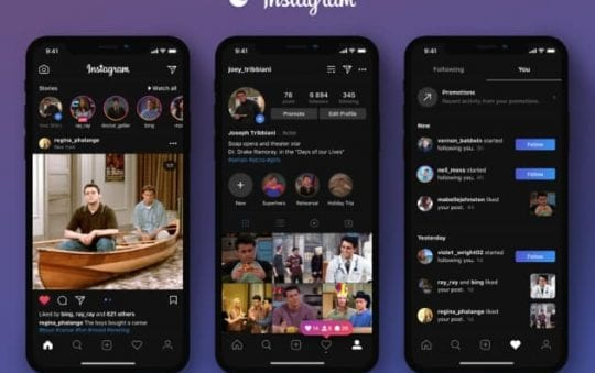 How to enable dark mode for Instagram